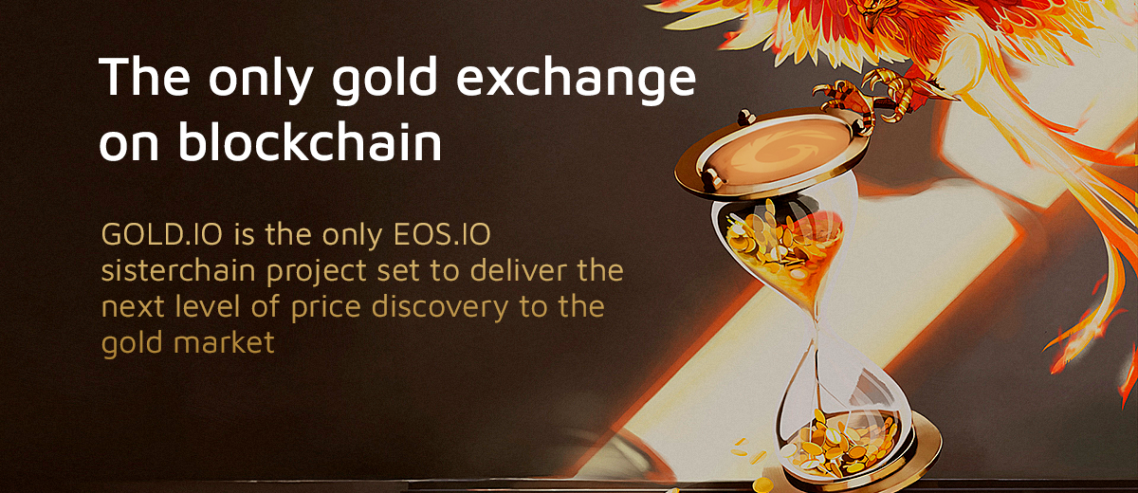 Power of Gold on Blockchain: Gold.io Presents the First Inter-Blockchain DEX Governed by the Community