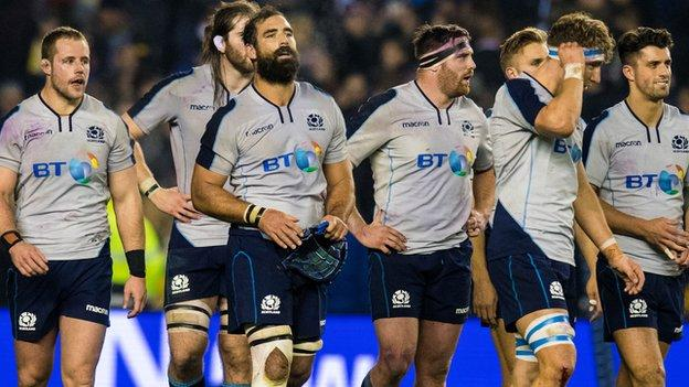 Scotland lament 'might-have-beens' after South Africa loss