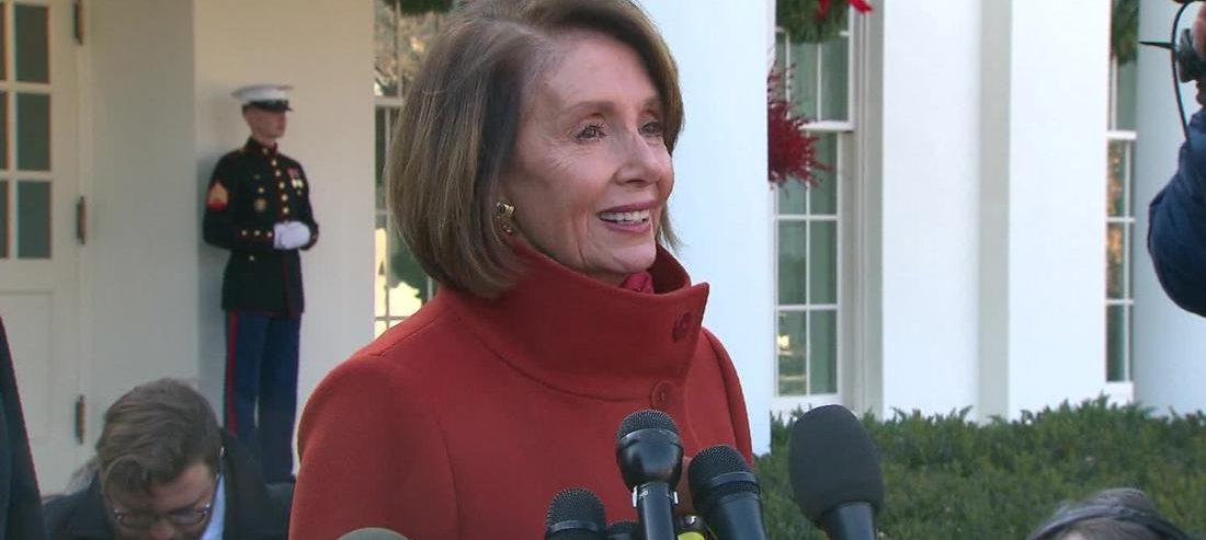 Nancy Pelosi in the Oval Office is all American women