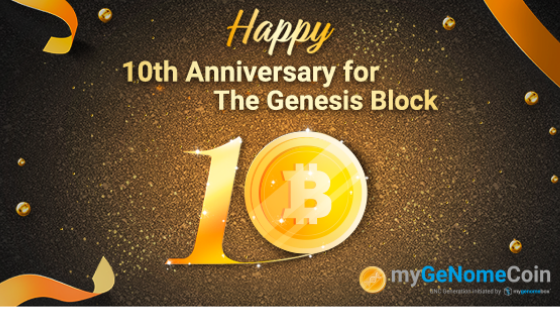 Congratulation! 10th Anniversary of the Genesis Block