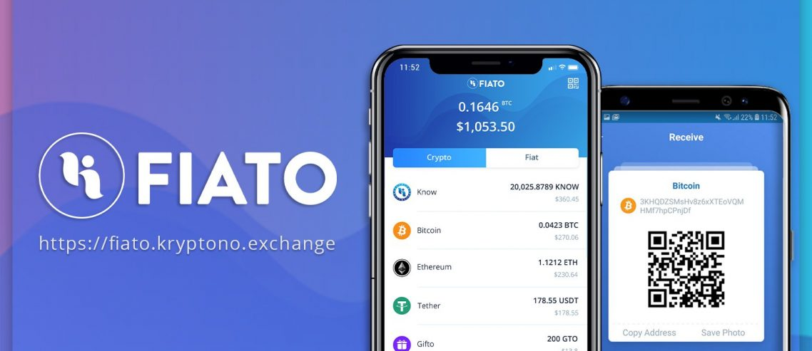 Kryptono Launches FIATO for Users to Manage Crypto on Mobile Phones