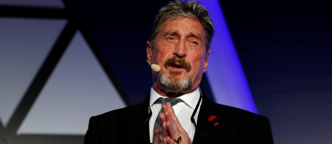 Bitcoin Bull John Mcafee Is Running for President While Running from the Law