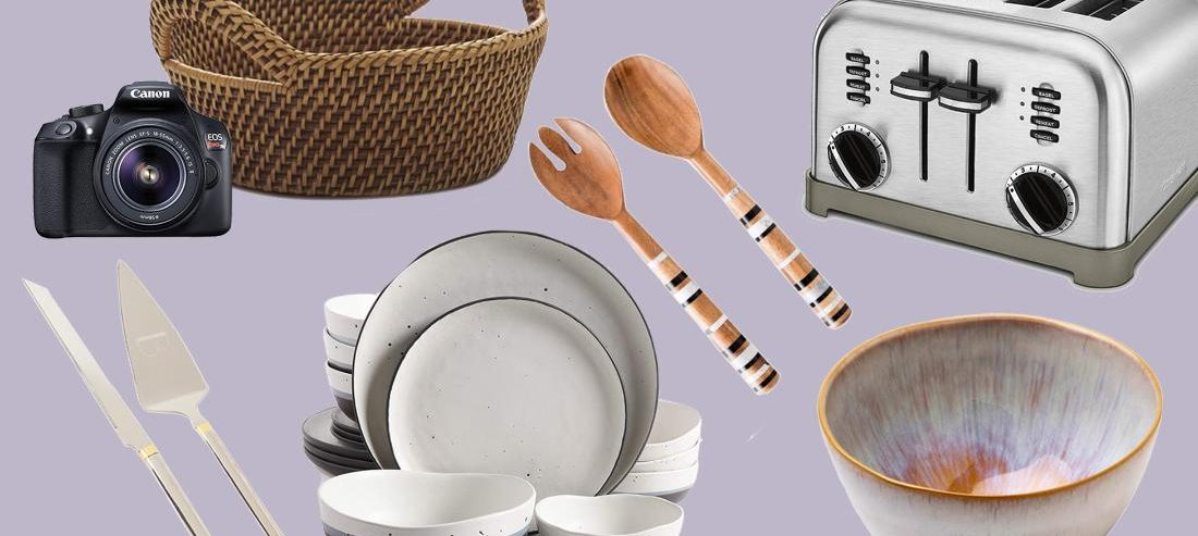 50 items every bride and groom should have on their registry