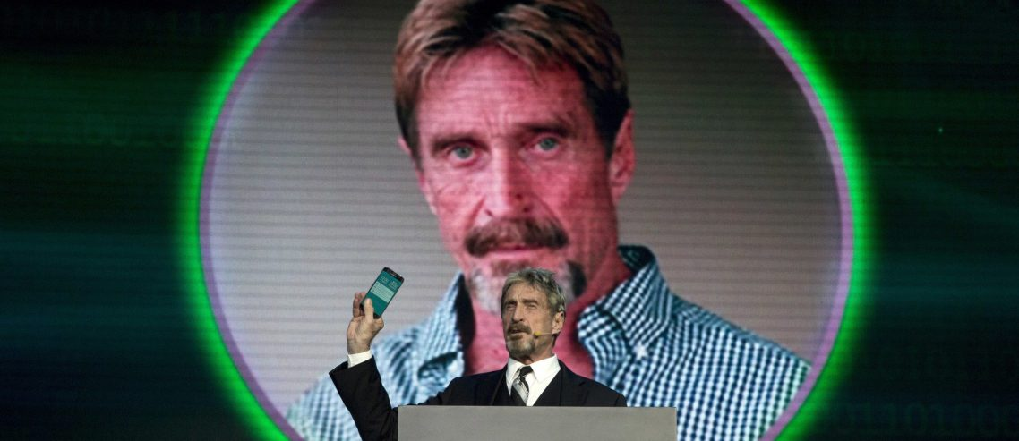 Exclusive: John McAfee Dishes on His Extraordinary Plan to Run for President from International Waters