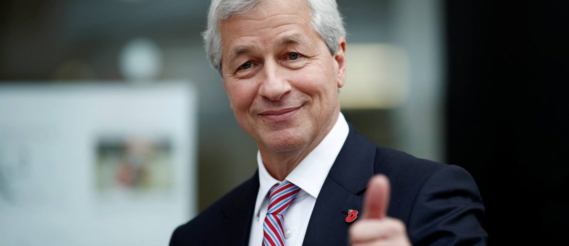 Jamie Dimon: 'I Have No Problem Paying Higher Taxes', If They're Used Wisely