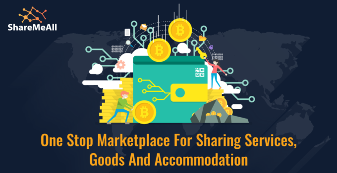 Sharing of Goods, Skills, and Assets with the Use of a New Cryptocurrency