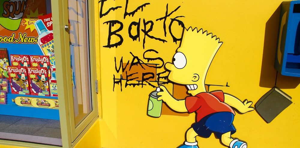 Here's Why the Bitcoin Price Has Crypto Traders Railing at Bart Simpson