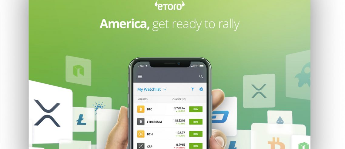 eToro Officially Launches Crypto Trading Platform & Wallet in the U.S.