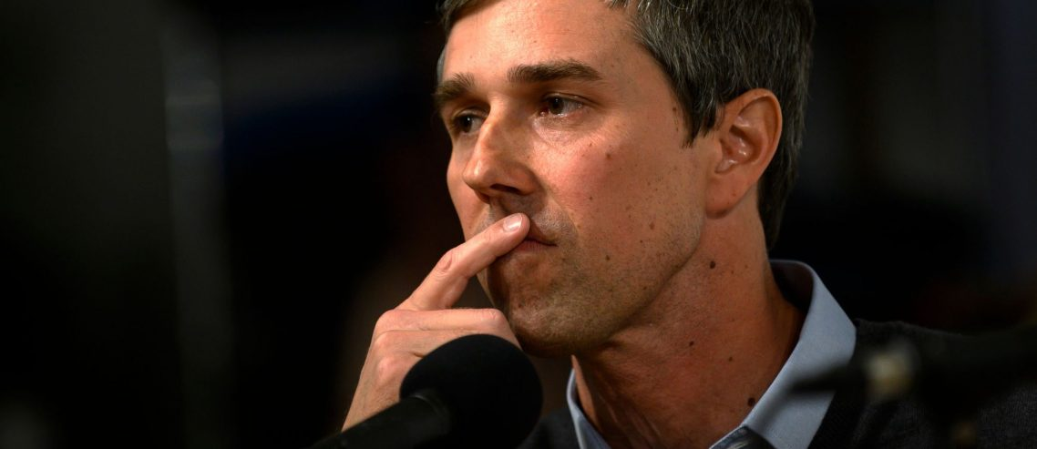 Dow Futures Stagger while Beto Rakes in Massive Fundraising Haul