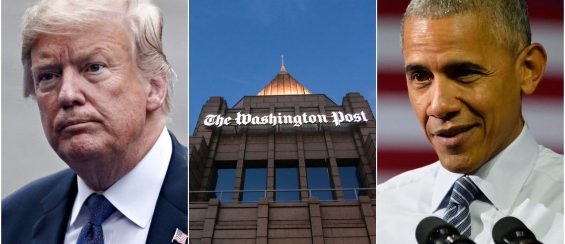 Washington Post Exposed: Trump Hit-Job Peddles 'Nonpartisan' Research from Ex-Obama Cronies