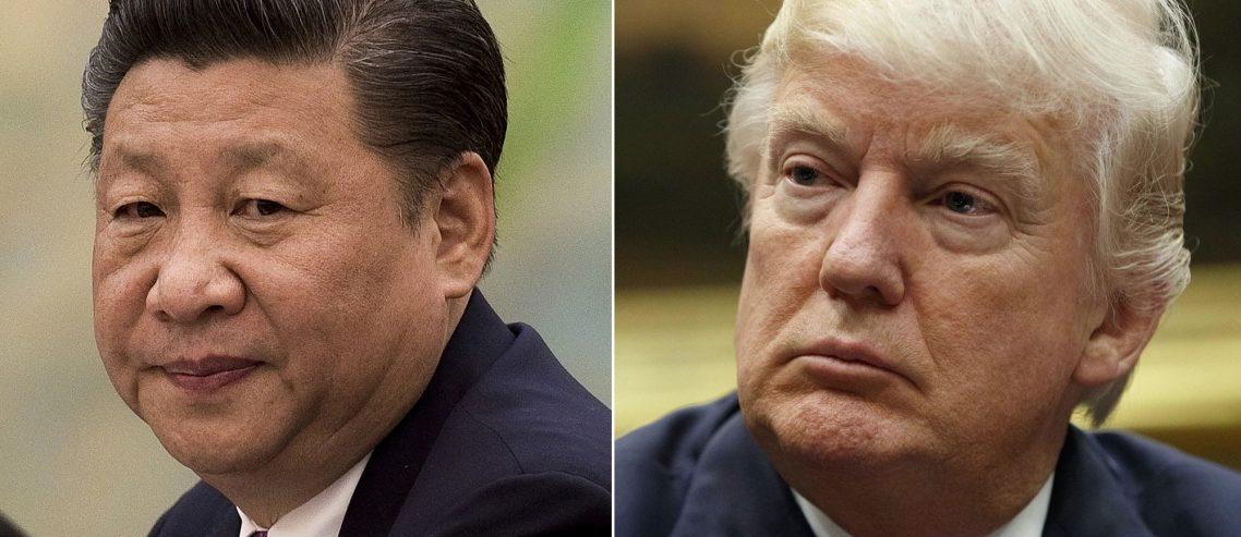 Dow Frantically Searches for Silver Lining After China Shocks White House