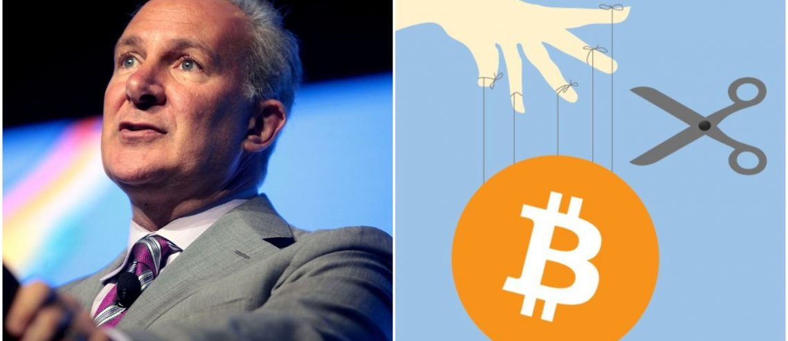 Bitcoin Just a Shady 'Ponzi Scheme,' Rants Goldbug Peter Schiff