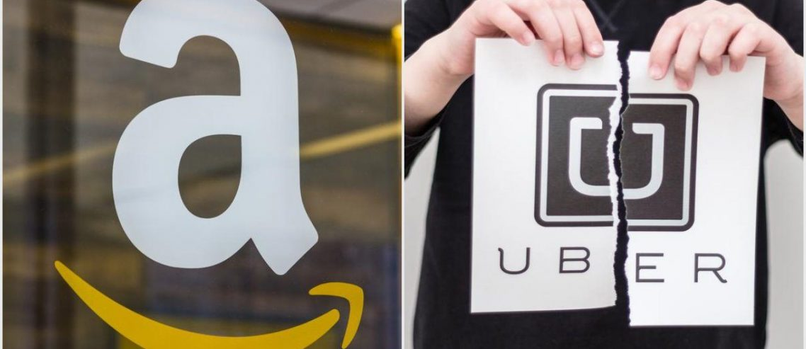Amazon Flaunts War Chest, Pays Employees to Quit while Uber Flounders