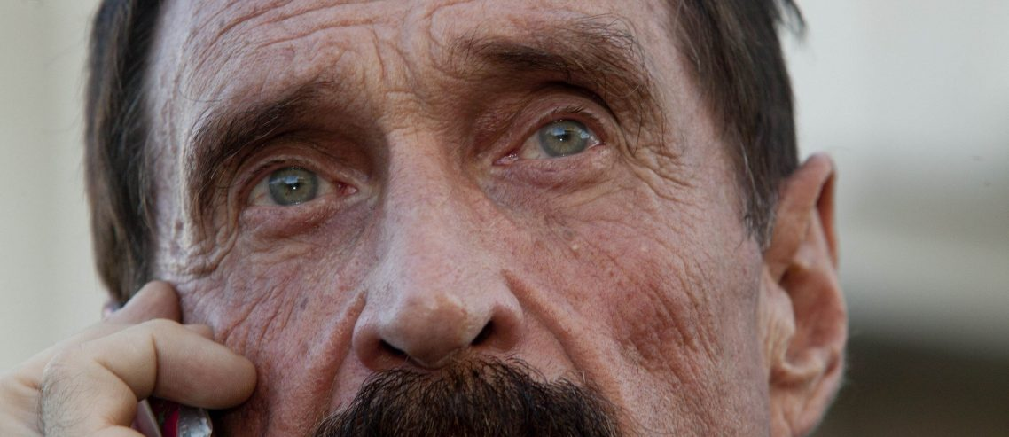 Crypto Whiz John McAfee 'Goes Dark', Twitter Conspiracy Theorists Go Nuts