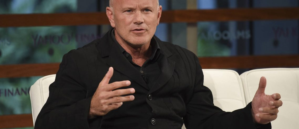 No '40% in a Day' Altcoin Pumps Coming This Bull Market: Mike Novogratz