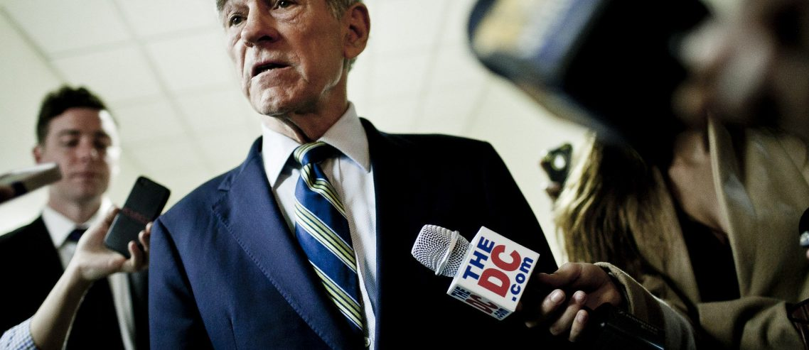 Pro-Bitcoin Ron Paul Savages 'Total Failure' Fed Reserve for 'Flat-Out Broke' America