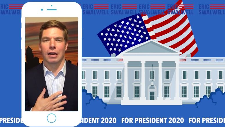 Eric Swalwell's Campaign Ad Is So Cringeworthy He Might Be a Genius