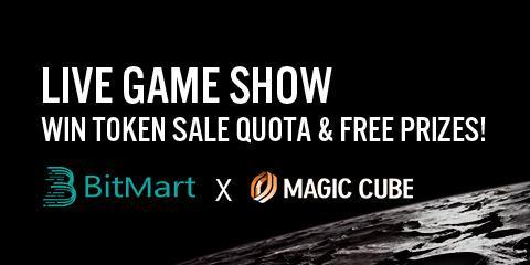 Breaking: BitMart Will Join Magic Cube to Launch Live Game Show and IEO Token Sale!