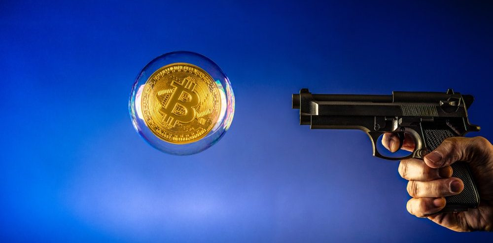'Violent' Bitcoin Price Correction to $3000 Could Ring Dramatic Reality Check