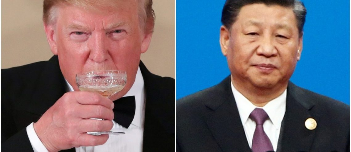 Dow Quivers as Beijing Slams Trump for 'Naked Economic Terrorism'
