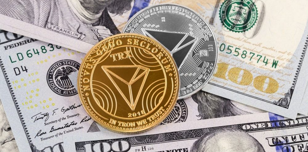 Tron (TRX) Price Goes 28% Up This Weekend in a Bulls***t Wacko Rally