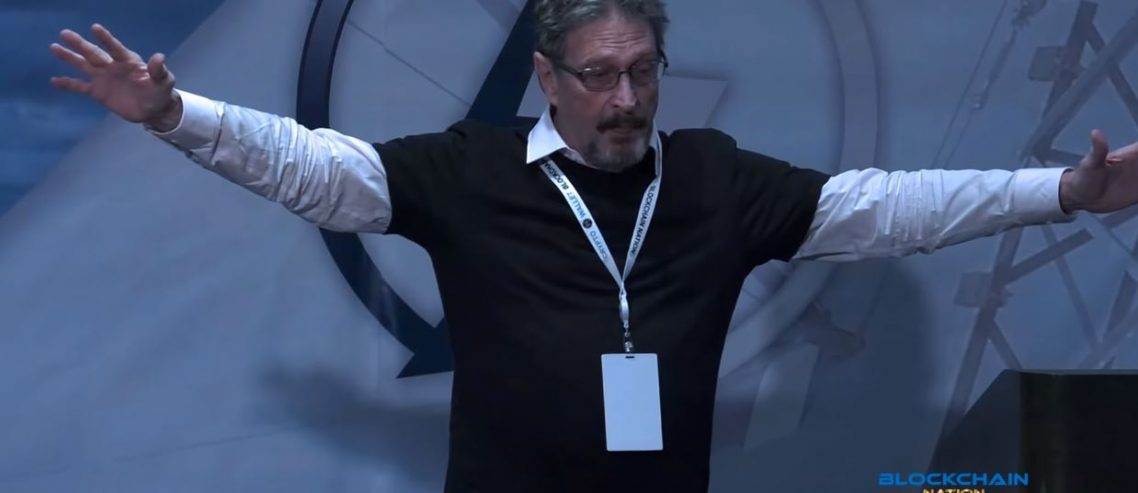John McAfee Sends the Media Bitcoin Debit Cards, but What's the Catch?