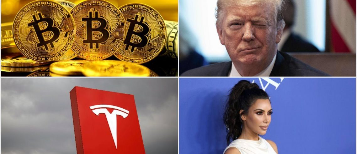 Bitcoin's Popularity Beats Trump, Tesla, & Kim Kardashian on Google
