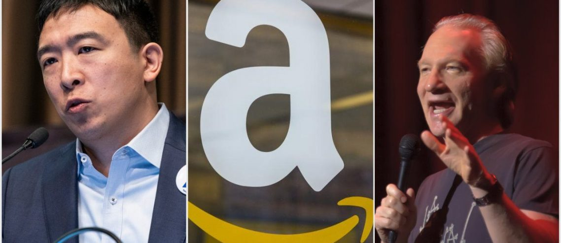 Dem Hopeful Andrew Yang Slams Amazon in Viral Maher Clip