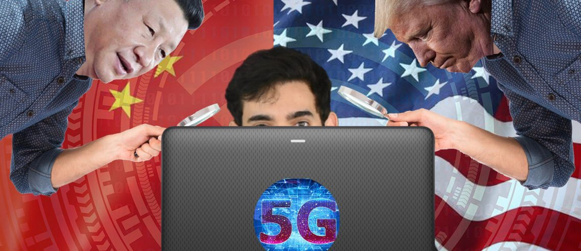 What a bit! 5G Race and How to Prevent Yourself from Being Spied