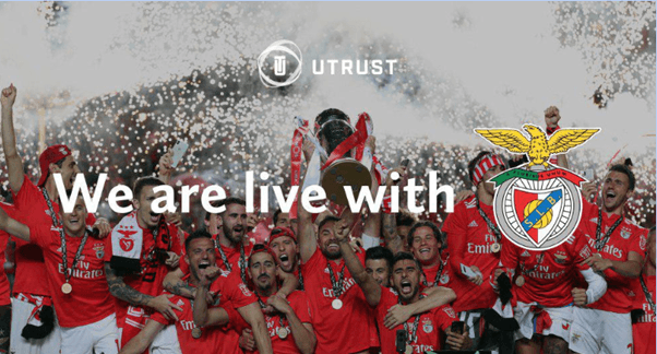 Portuguese Football Club SL Benfica Accepts Crypto Payments in Partnership with UTRUST
