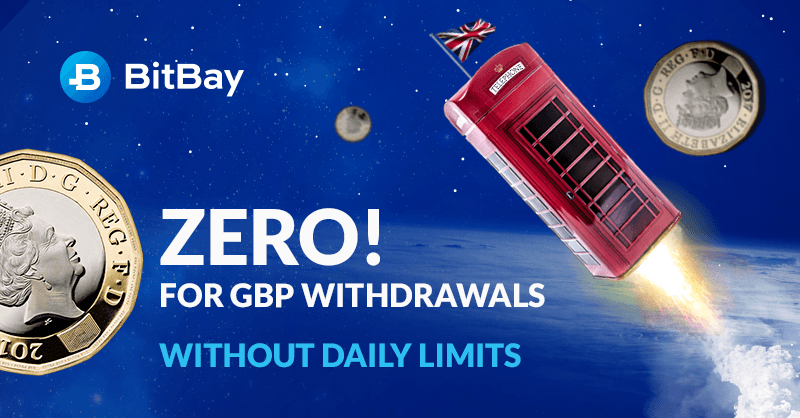 BitBay.net Exchange Introduces GBP With Special June Promotion