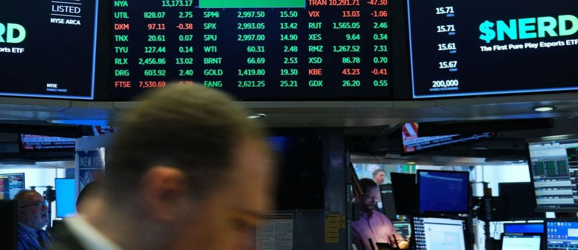 Dow Spins Tires as Timid Investors Plow Back Into Stocks