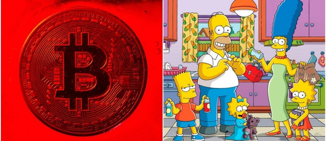 Bitcoin Price Dives $700 as Simpsons Pattern Rears Its Ugly Head