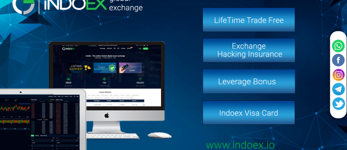 IndoEx Launches EU & UK Regulated Crypto to Fiat Exchange