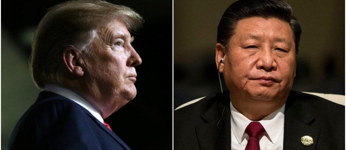 Dow Seesaws as Nervous Market Watches China Get Tough With Trump