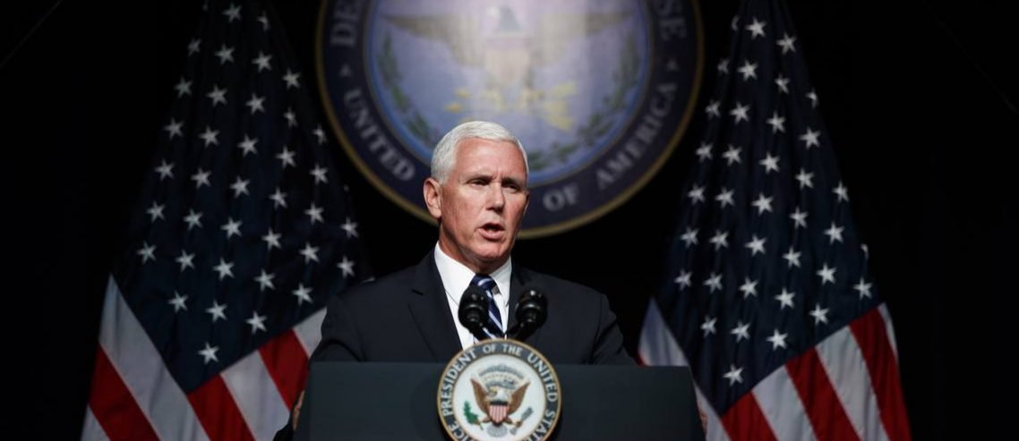 Dow Dives 150 Points as Pence Threatens China over Hong Kong