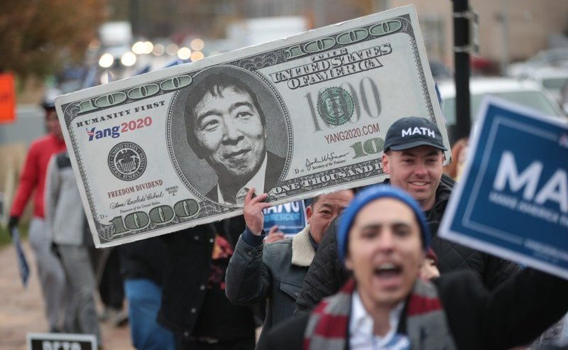 """MSNBC is Ignoring Andrew Yang- But it Could Help His """"Free Money"""" Campaign"""
