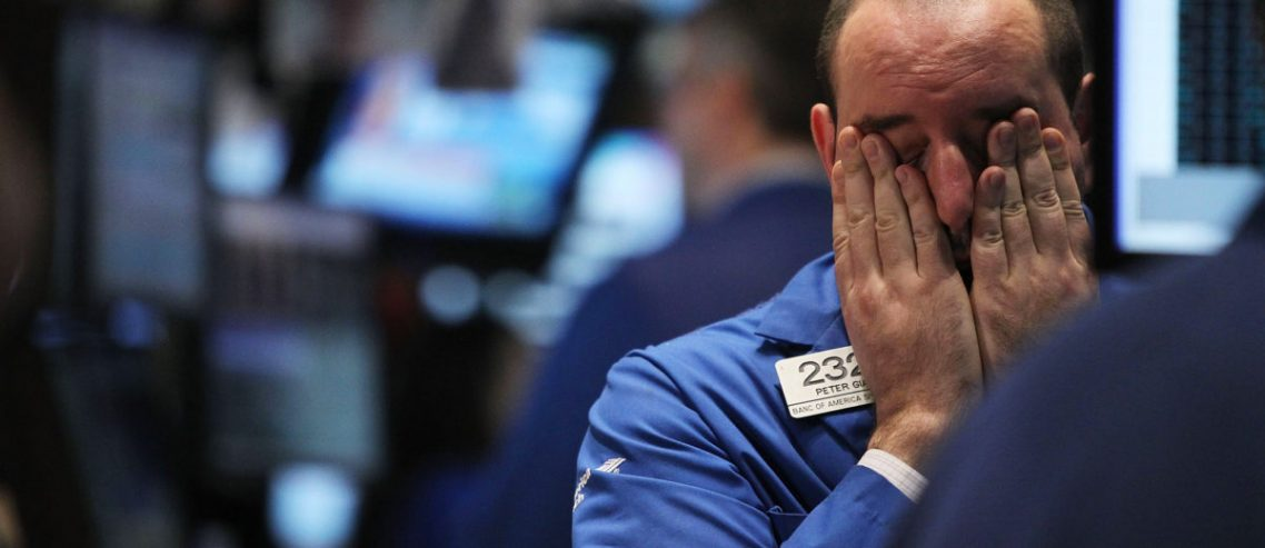 Dow Plunge Intensifies as Stock Market Suffers Ugliest Loss Since 2008
