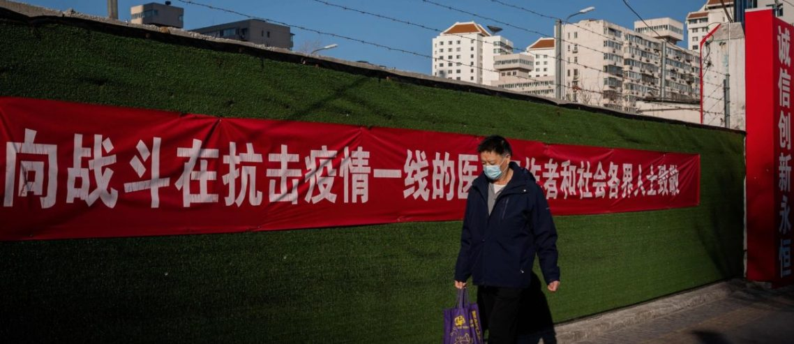 China's Communist Party Shifts Coronavirus Blame to Outsiders