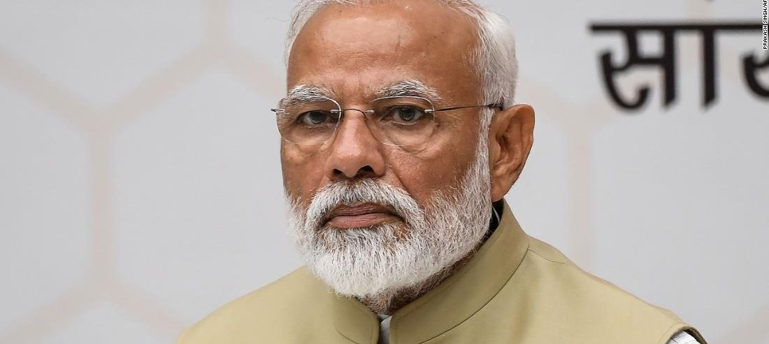 Twitter investigating apparent hack of account tied to Indian Prime Minister Narendra Modi