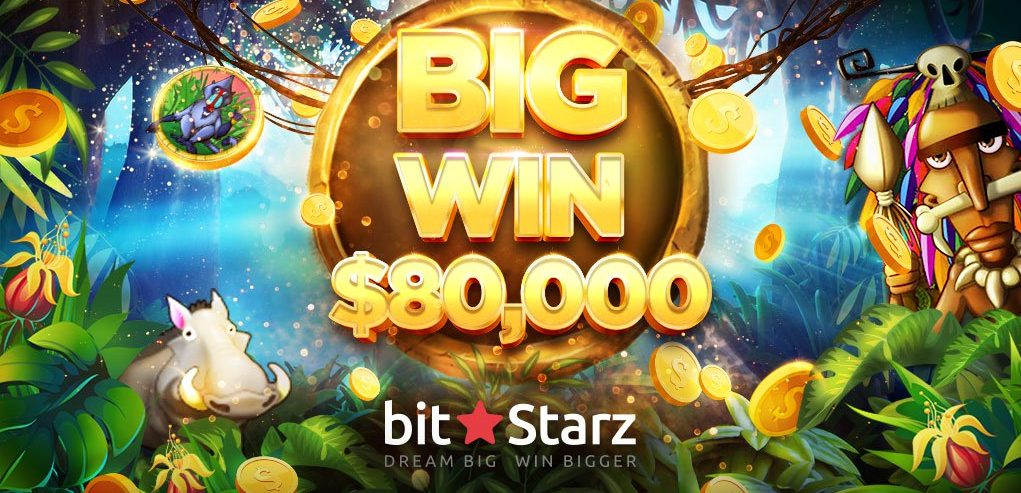 Another Big Win at BitStarz – Jungle Rumble Lands Player $80,000 Prize!
