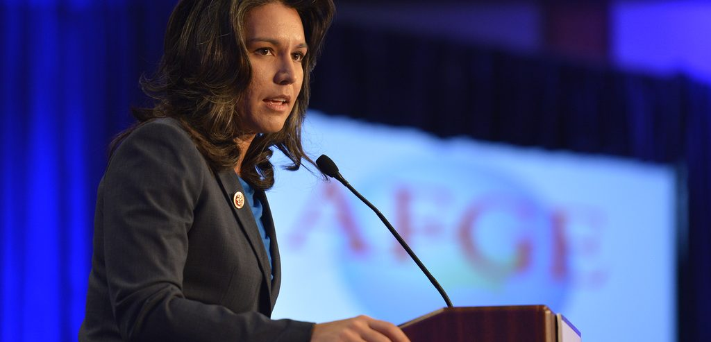 US Presidential Candidate Tulsi Gabbard Bought Crypto at Height of Bull Market