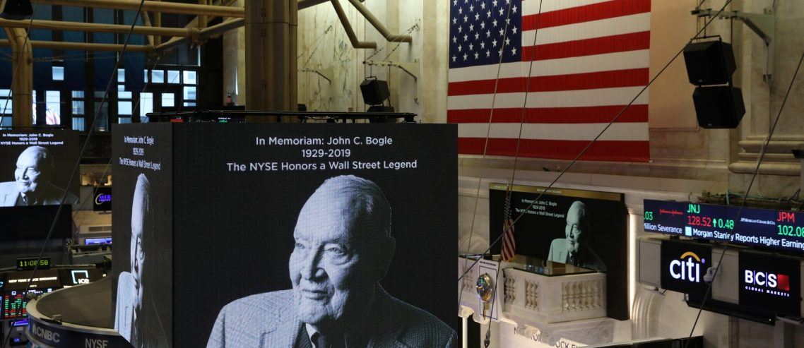 Legendary Investor John Bogle Dead at 89, Bet His Wife Is Glad She Didn't Diversify