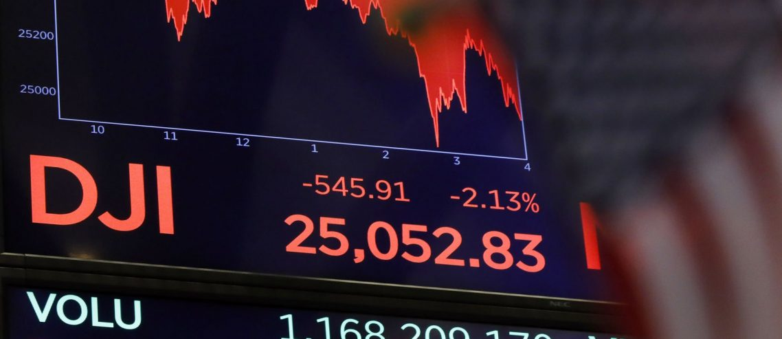 Dow Bleeds Below 25,000: Why Trade War Chaos is Rattling the Stock Market