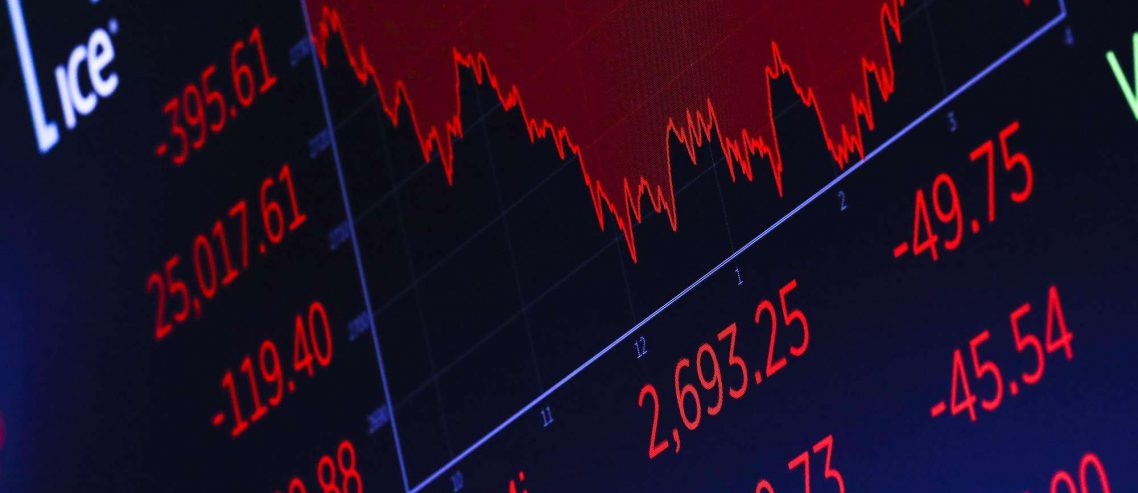 Historic Retail Sales Drop Rocks Dow Jones While Bitcoin Price Continues Slow Bleed