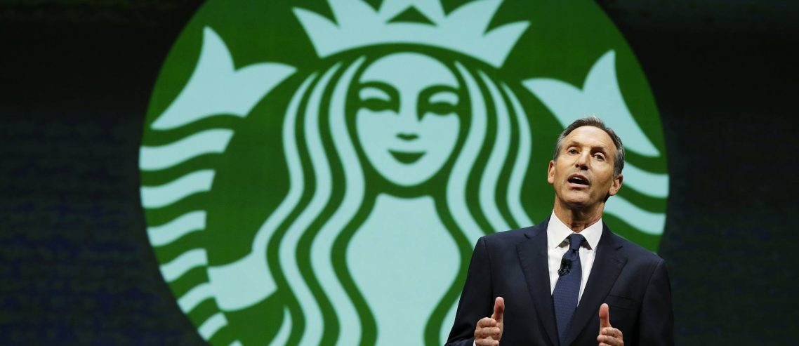 Billionaire Who Predicted Trump's Rise Says Ex Starbucks CEO Doesn't Have the Beans for 2020 Presidential Race
