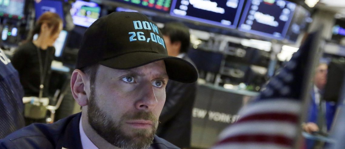 Dow at 26,000? Not So Fast – US Stock Market Tumbles as VIX Bounces