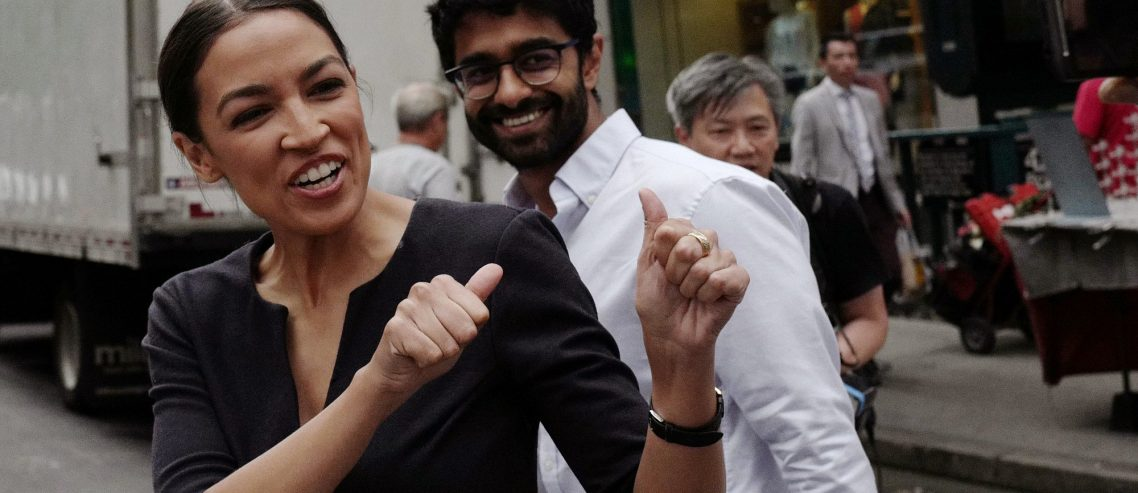 Wall Street Tax Endorsed by AOC Amid Questions About Her Campaign's Finances