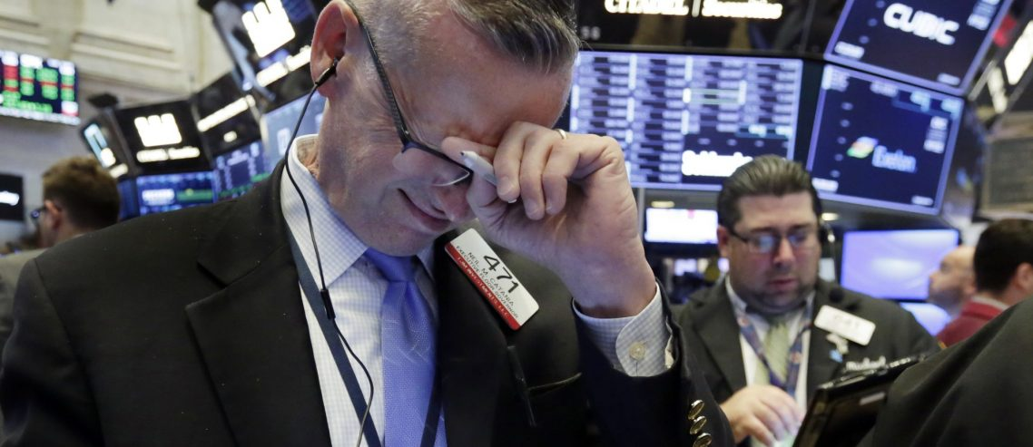 Dow Bloodbath Barrels into Day 5 as Awful Jobs Data Portends Recession