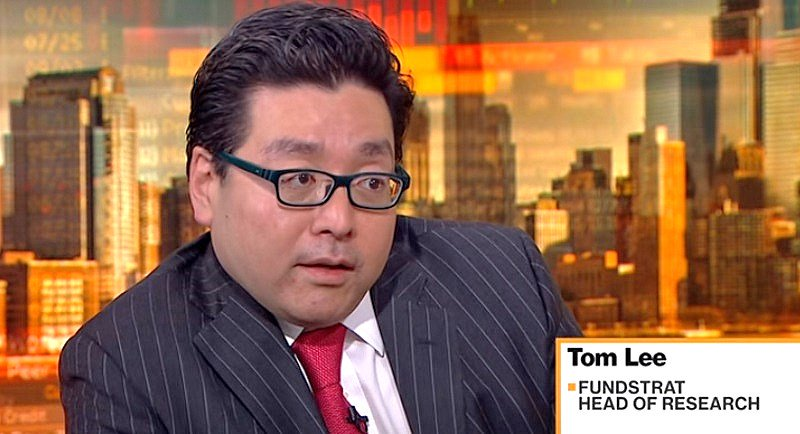 Bitcoin Perma-Bull Tom Lee Believes Bitcoin Price Should Be $15,000-$20,000